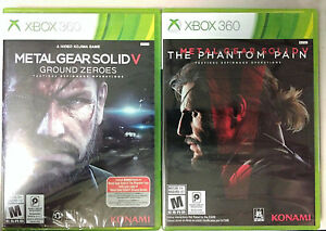Details about Metal Gear Solid V: Ground Zeroes & The Phantom Pain (Xbox  360)