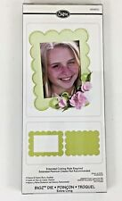 Machines Bigz XL cutting die Scallop Picture Frame /& Back 656610 Use Sizzix etc