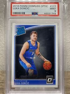 2018 Panini Donruss Optic Luka Doncic #177 Rookie Card PSA 9 MINT