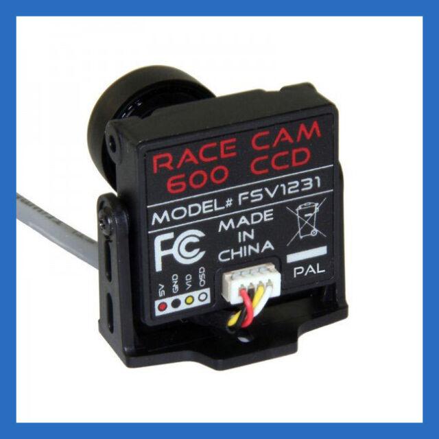 Fat Shark 600TVL CCD FPV Race Camera V3 - 2 9mm Wide Angel Lens - US Dealer