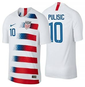 1c45d0ba1c0 Image is loading NIKE-CHRISTIAN-PULISIC-USA-HOME-JERSEY-2018-19