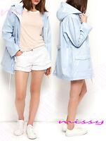 WATERPROOF COAT  Festival Rain Mac Ladies coat Womens Jacket Size 8 10 12 14 16
