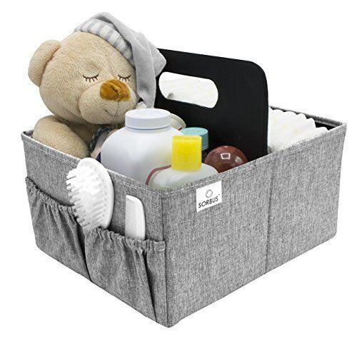 Sorbus Baby Diaper Caddy Organizer Nursery Storage Bin For Diapers Wipes Ebay
