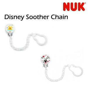 Nuk-Disney-Winnie-Pooh-Mickey-Mouse-Soother-Clip-Design-Or-Color-May-Vary