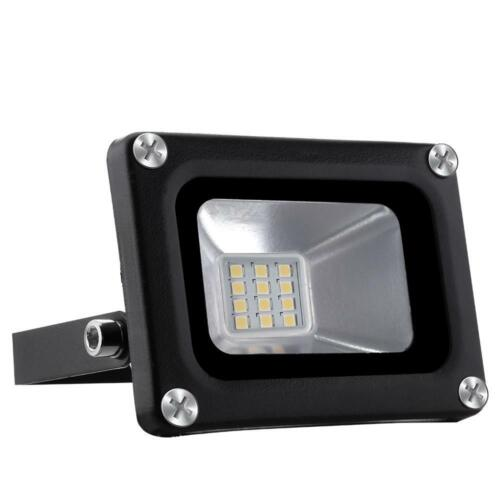 10W 12V Outdoor Security LED Floodlight Outside Garden Flood Light Waterproof