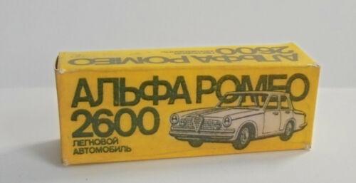 Caja RePro de ruso Alfa Romeo 2600