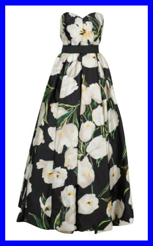 DOLCE and GABBANA TULIP PRINT GOWN 42 - 6 - image 1