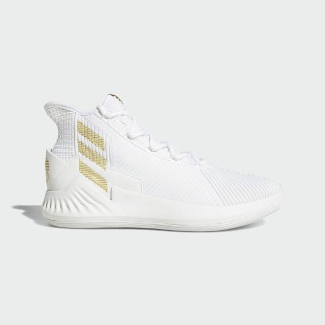 aliexpress huge sale new list Adidas D Rose 9 [AC7439] Men Basketball Shoes Derrick White/Gold