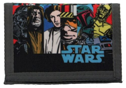 Official Classic Retro Comic Design Great Value! Star Wars Money Wallet
