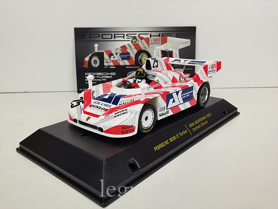 SCX Scalextric Falcon Slot Cars 09003 Porsche 908 3 Turbo  Jochen Dauer  Nº25