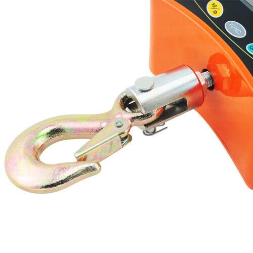 500KG//1100 LBS Digital Crane Scale Heavy Duty Industrial Safty Use Hanging Scale