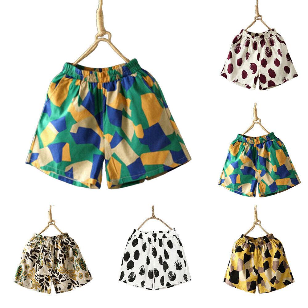 Damen Bermuda Kurze Hose Elastische Taille Sommer Strand Shorts Chino Hotpants
