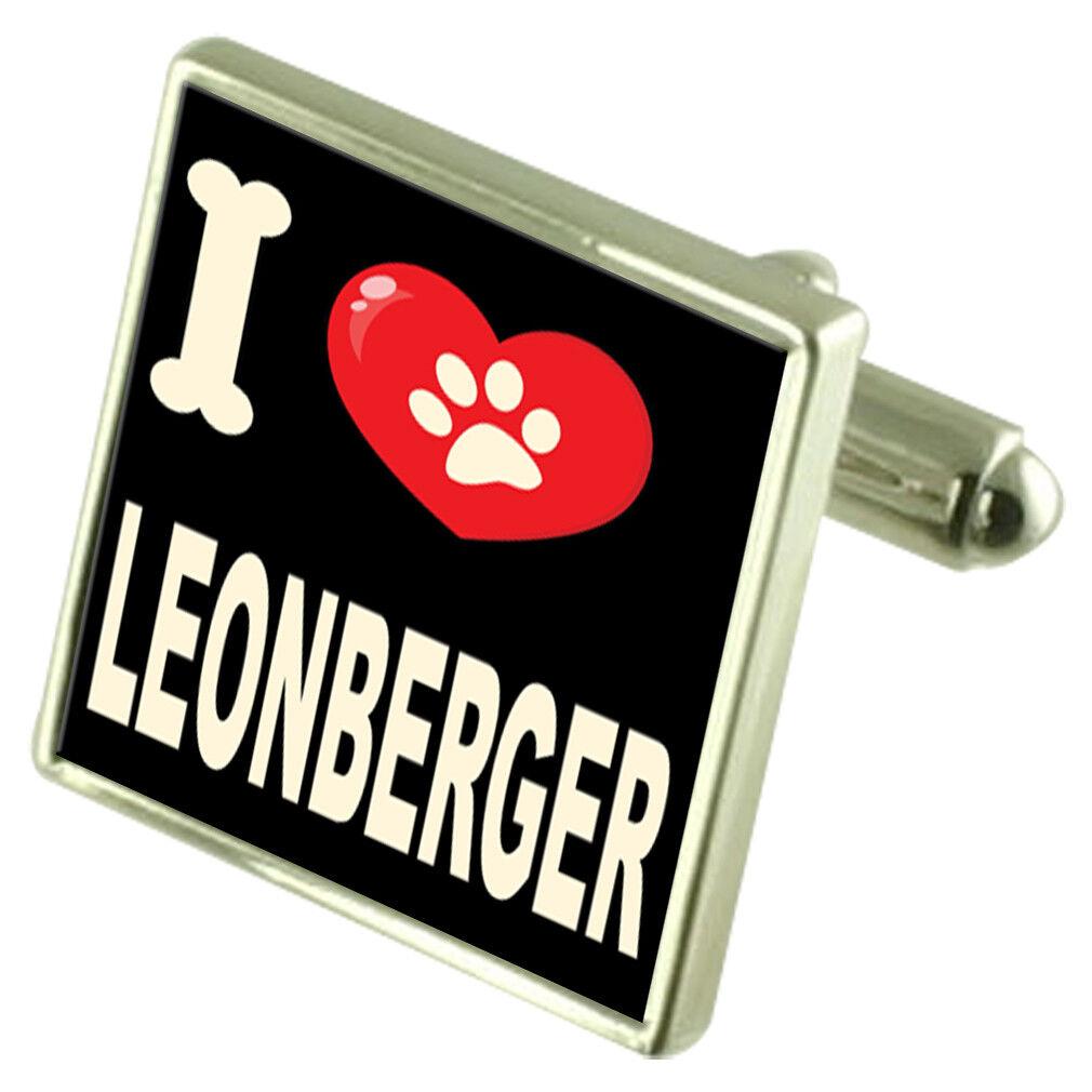 Amo il Mio Cane Tonalità argentoo Gemelli Gemelli Gemelli Leonberger b88d8b
