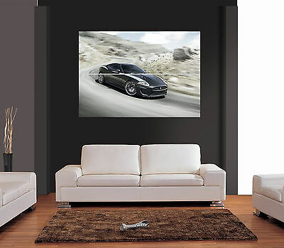 JAGUAR XKR CAR Giant Wall Art Print Picture Poster