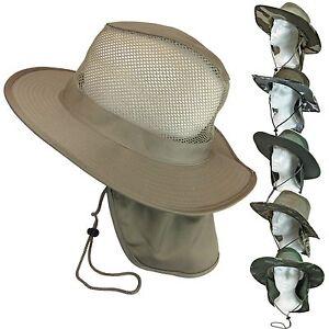 camo cool mesh boonie bush fishing hiking neck