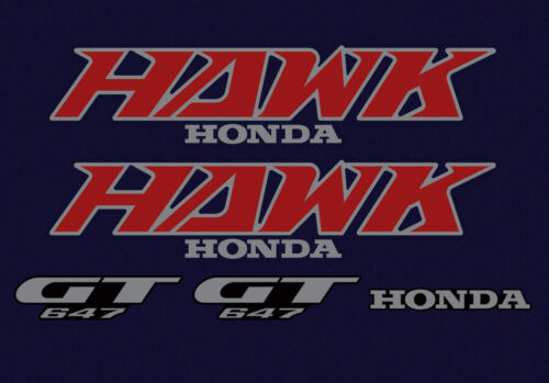 Blue Model-Decal Set 1988 Honda NT650 Hawk Tempest
