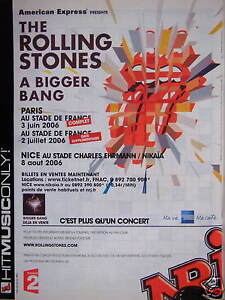 Collectibles Other Breweriana Publicite Advertising 2000 Tina Turner Concert Stade France & Radio Nrj
