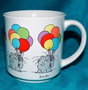 Image Is Loading Vintage Sandra Boynton Kitty Cat Rainbow Pride Balloons