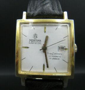 R389-Vintage-034-Mortima-034-Super-de-Luxe-Automatic-Armbanduhr
