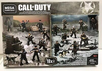 Allied /& Axis Attack Dogs From MEGA CALL OF DUTY RARE WW2 BATTLE PACK FXG06