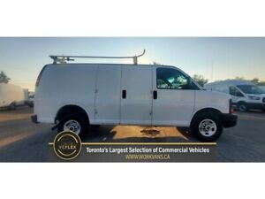 2013 GMC Savana G2500 - 4.8L V8 Gasoline - RoofRack/Divider/Shelve