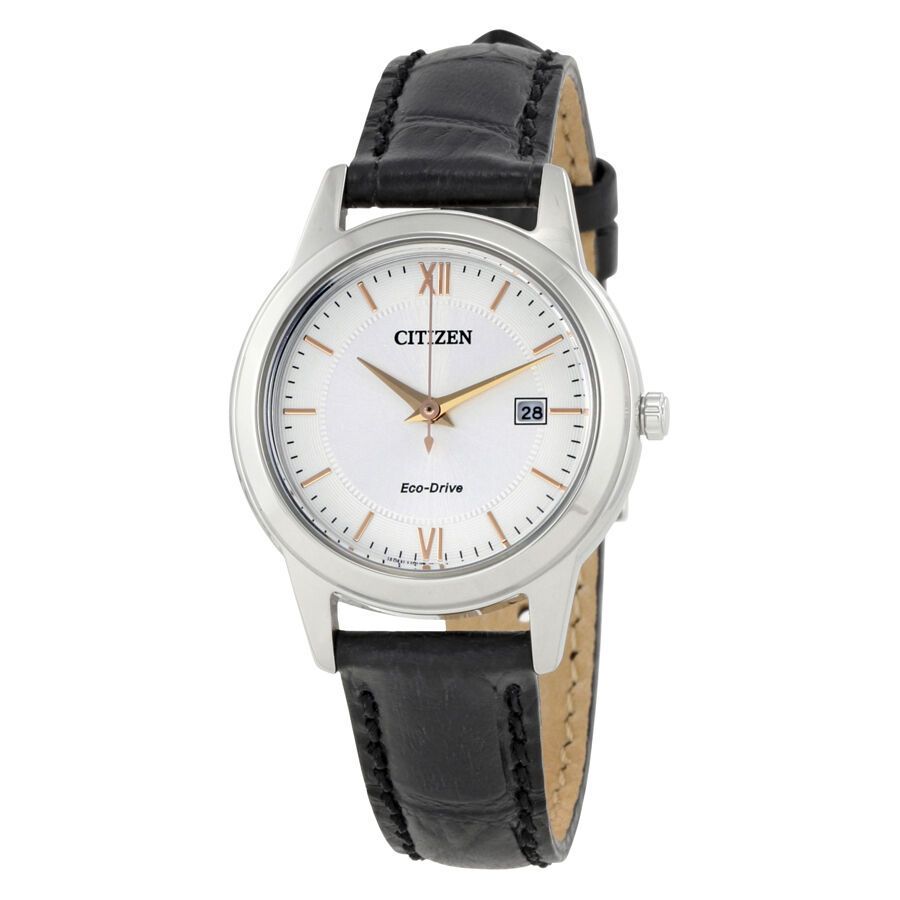 Cross-Border:- Citizen Ladies Straps Eco-Drive Silver Dial Ladies Watch FE1086-04A low price
