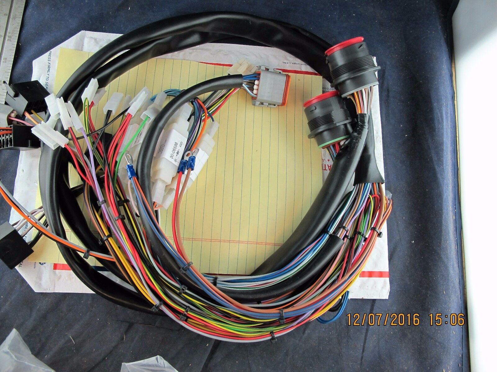 on dco bobcat wire harness