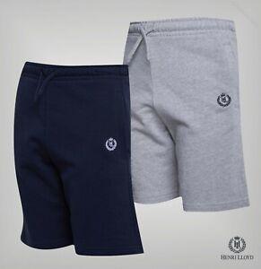 Garcons-Henri-Lloyd-Elastique-Boucle-Jersey-Shorts-Tailles-Age-De-7-To-15-ans