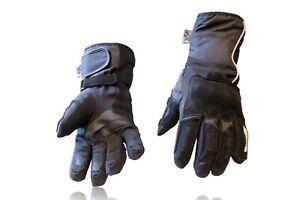 Guanti-moto-pelle-tessuto-X-HAND-invernali-antiacqua-protezioni-inserti-Reflex