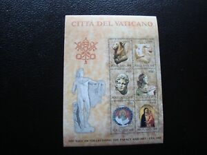 Vatican-Stamp-Yvert-and-Tellier-Bloc-N-6-N-Z14-Stamp-A