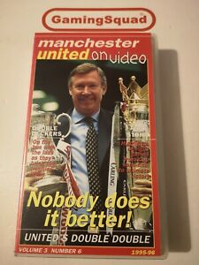 Manchester-United-Volume-3-Number-6-VHS-Video-Retro-Supplied-by-Gaming-Squad