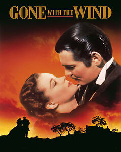 "Gone With the Wind - 1939, Movie Poster (8""x10"" Photo) 