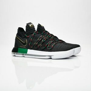 130bc0719e1 Nike MEN S Zoom KD10 LIMITED BLACK HISTORY MONTH SIZE 14 BRAND NEW ...