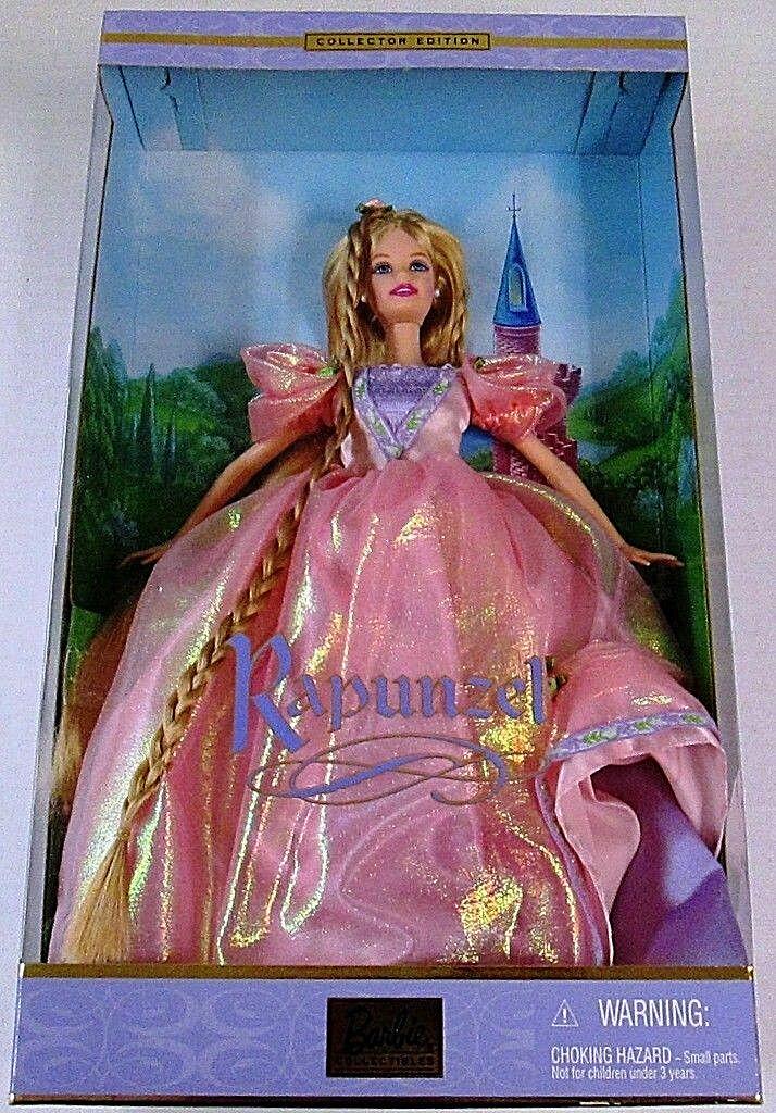BARBIE Dolls Collection_RAPUNZEL Barbie 12 inch Doll_New Doll_New Doll_New & MIB_Collector Edition db47d3