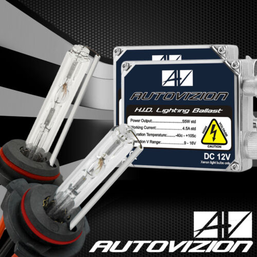 Hid Xenon 55W Headlight Conversion Kit Lamp Bulbs H1//H3//H4//H7//H11//9005//9006//9004