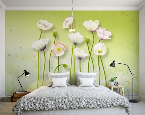 3D Enchanting Flower 9 Wall Paper Murals Wall Print Wall Wallpaper Mural AU Kyra