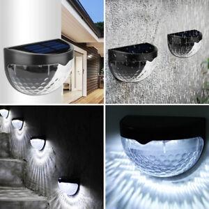 Solar-Powered-Fence-Lights-Wall-Door-Step-Smd-Led-Light-Outdoor-Garden-Lighting