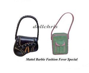Mattel-Fashion-Fever-Barbie-Purse-Set-Accessory-Lot-of-2-Party-Favors-2004-NEW