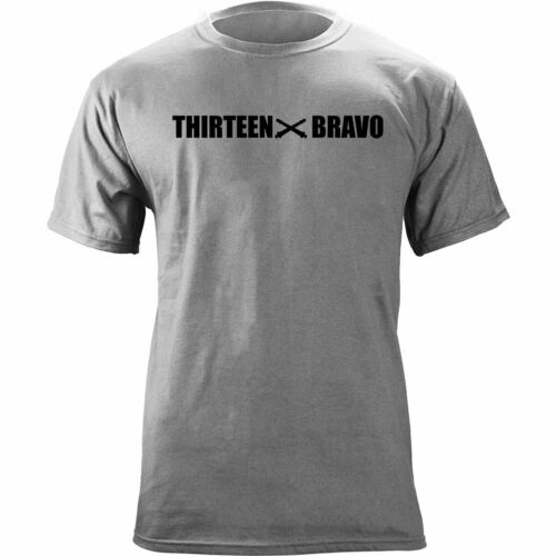 US Army Cannon Crewmember MOS 13 Bravo Thirteen Bravo 13B Veteran T-Shirt