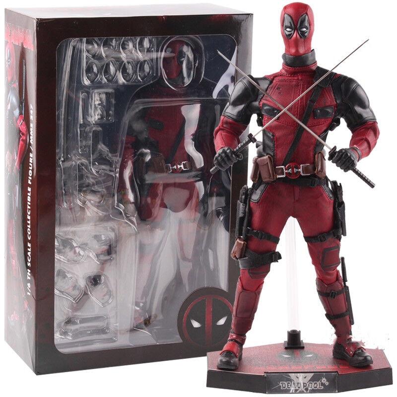 Hot Toys  Marvel Deadpool MMS 347 PVC Action Figure Collectible Model Toy  bénéfice nul
