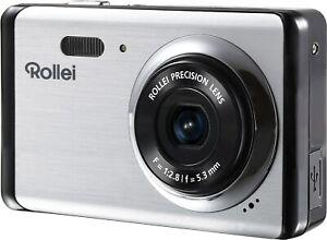 8,0 MP Rollei Compactline 83 Digitale Kompaktkamera Kamera silber