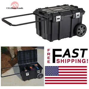 Husky Black Mobile Tool Box 26 Quot Heavy Duty Metal Latches