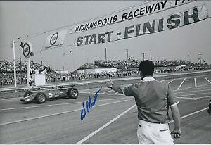 Al-UNSER-Indianapolis-Raceway-Winner-SIGNED-Racing-Legend-12x8-Photo-AFTAL-COA