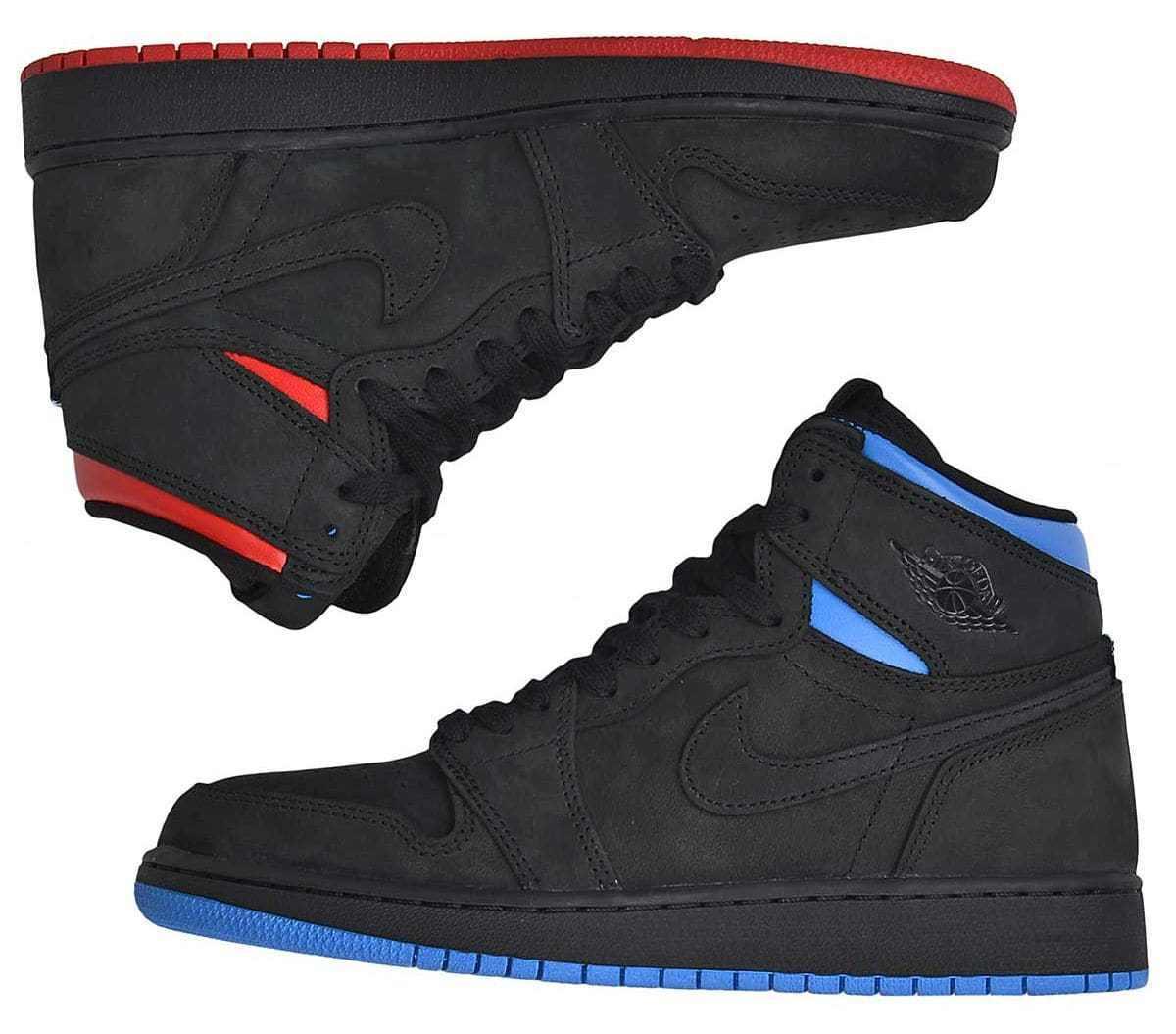 Nike Air OG Jordan 1 Retro High OG Air Quai 54 Q54 Size 15. AH1040-054 banned royal 928e65