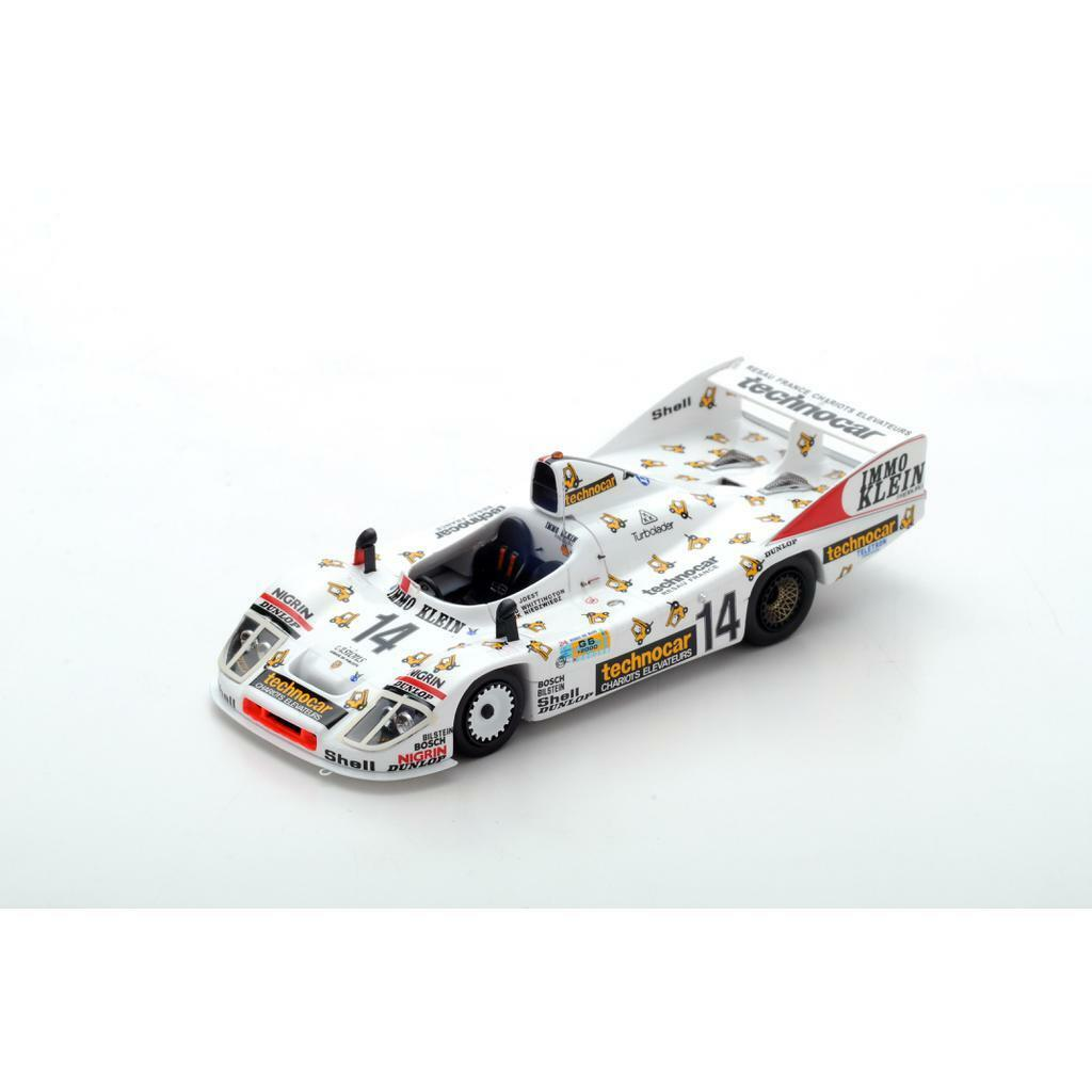 SPARK PORSCHE 936 (908 80) Le Mans 1981 Whittington - Joest S5502 1 43