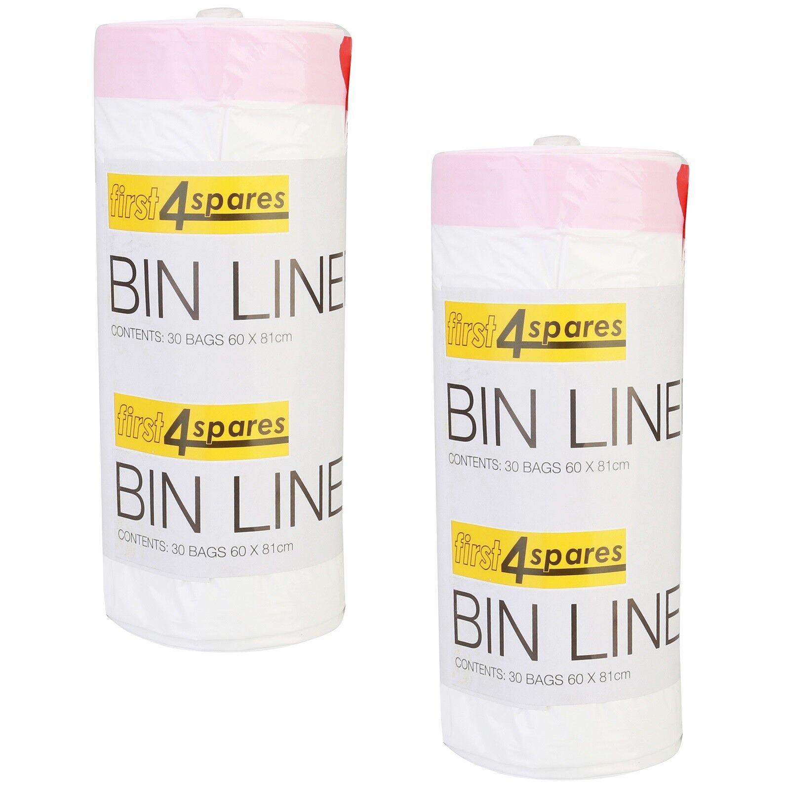 NEW Brabantia Pedal Bin Plastic Liners E 40pk 20L