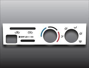 1999-2000-Toyota-Tacoma-White-Heater-Control-Switch-Overlay-HVAC