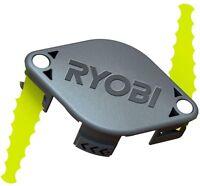 Ryobi Bladed Trimmer Head 2 Pack Serrated Blades Brush Cutter Trimmer Head