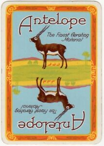 Playing-Cards-Single-Card-Old-Old-Wide-ANTELOPE-Bakers-BAKERY-Advertising-Art-3
