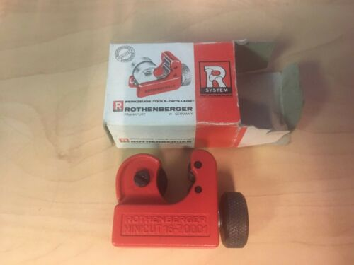 """3-16 mm 1//8/""""-5//8/"""" nuevo 7.0001 Rothenberger//Super Ego Mini cortador de tubo de"""